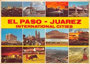Mexico, New Mexico El Paso, Texas & Juarez International Cities 1981