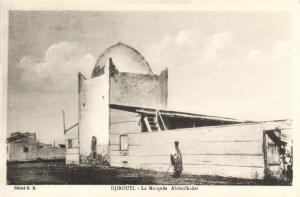 CPA Djibouti Afrique - La Mosquée Abdoulkider (87071)