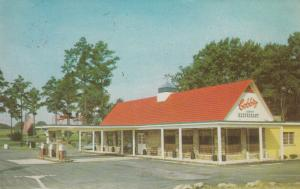 ROCKY MOUNT , North Carolina , 50-60s ; Cobb's Motel & Restaurant, gas station