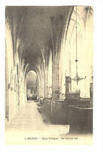 Eglise St-Aignan, Nef Laterale Sud, Orleans (Loiret), France, 1900-1910s