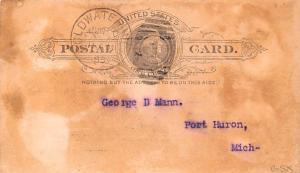 Hardware Advertising Old Vintage Antique Post Card Stolen, Bay Horse Postal U...
