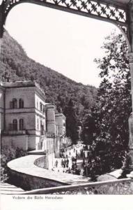RP: Vedere din Baile Herculane , Romania , 30-40s