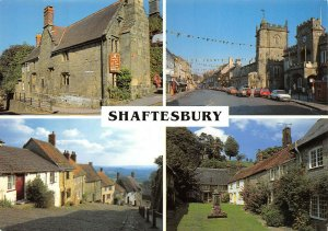 Dorset Multi View Postcard, SHAFTESBURY AW0