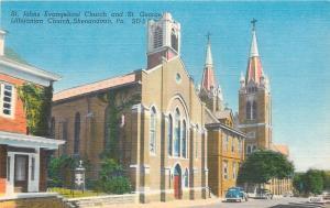 Shenandoah PA~ St Johns Evangelical Church~St George Lithuanian~Razed 2009~1940s