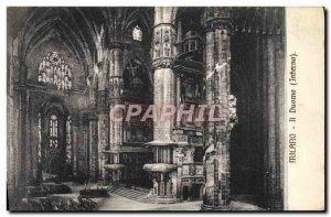 Postcard Old Milan Duomo