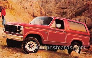 Postcard Post Card Ford Bronco