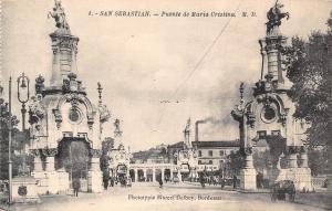Spain San Sebastian - Puente de Maria Cristina, rue, road, Espana