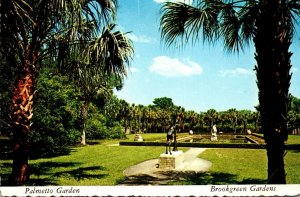 South Carolina Myrtle Beach Brookgreen Gardens Palmetto Garden 1974