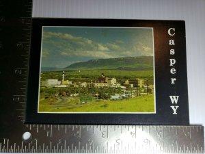 Vintage Postcard Casper Wyoming Casper Mountain Highway 20-26 1988 unposted