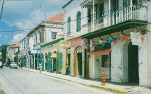 Virgin Islands St Thomas Street Scene sk4085