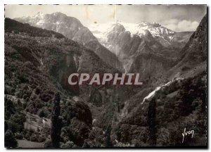 Postcard Modern Gorges Isere and Romanche massive Grand Rochail right spillwa...