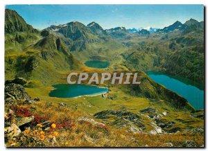 Modern Postcard Panorama Piora Cadagno