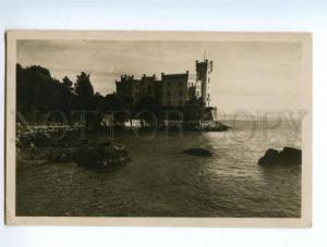 138508 Italy TRIESTE Miramare Vintage photo postcard