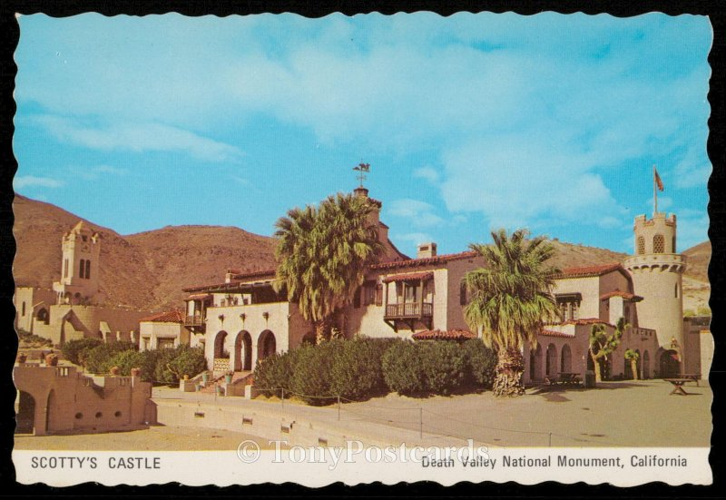 Scotty's Castle - Death Valley National Monument, California