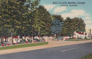 DOTHAN, Alabama, 1930-1940's; Kat-O-Log Motel Court, U.S. 231