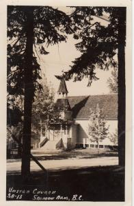 RP, United Church, Salmon Arm, British Columbia, Canada, PU-1951