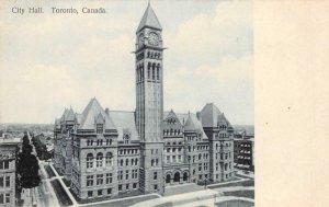 City Hall TORONTO Canada c1910s Vintage Postcard