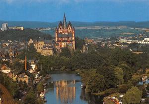 Blick zum Dom Limburg an der Lahn Cathedral General view
