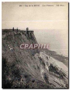 Old Postcard Le Havre Cape of Heve Cliffs