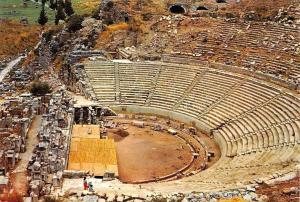 Turkey Efes Ephesus Great Theatre Buyuk Tiyatro