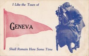 Pennant Series I Like The Town Of Geneva Ohio 1912