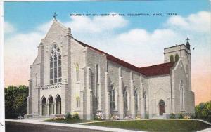 Texas Waco Church Of St Mary Of The Assumption