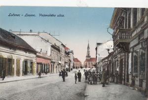 B78989 licenec losonc  Lizenz vajanskeho ulica  slovakia  scan front/back image