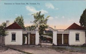 Entrance Or Texas Gate Mount Vernon Virginia