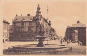 Bicycles Wheelchair Horsens Stationspladsen Denmark Old Postcard