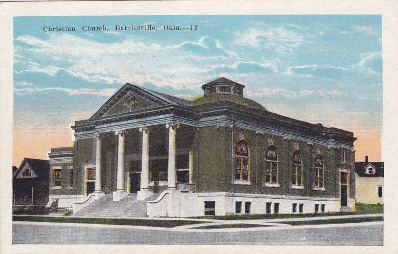 Christian Church, Bartlesville, Oklahoma, 1910-20s
