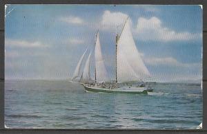 Massachusetts, Boothbay Harbor - Windjammer Cruising - [MA-403]