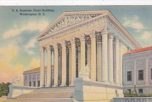 Washington D C United States Supreme Court Building