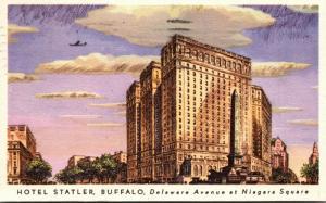 New York Buffalo Hotel Statler 1948