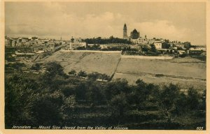 Jerusalem Mont Sion postcard