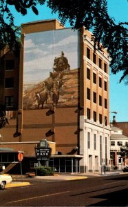 Kansas Dodge City First National Bank & Trust Company Stagecoach Mural&...
