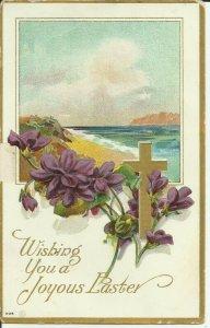 Wishing you a Joyous Easter---EMBOSSED