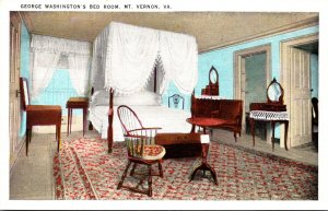Virginia Mount Vernon George Washington's Bed Room