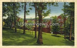 Melrose Dorm for Boys Mars Hill NC Unused