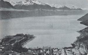 LAKE WAKATIPU, New Zealand, 1900-1910's; Queenstown