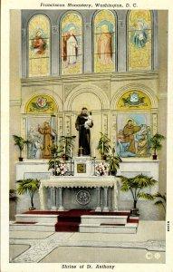 DC - Washington. Franciscan Monastery. Shrine of St Anthony