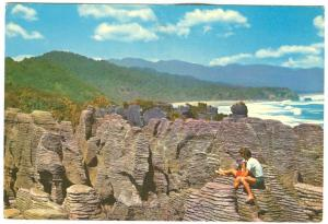 New Zealand, PUNAKAIKI ROCKS, Westland, unused Postcard