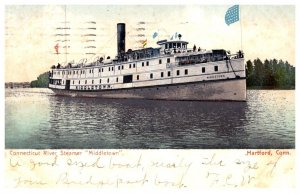 Connecticut  River Steamer  Middletown