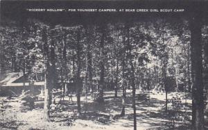 Hickory Hollow For Youngest Campers At Bear Creek Girl Scout Camp Kentucky Ar...