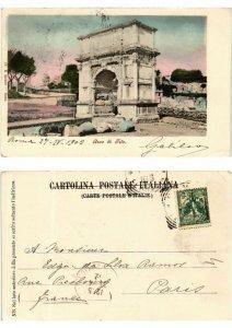 CPA ROMA Arco di Tito. ITALY (550997)