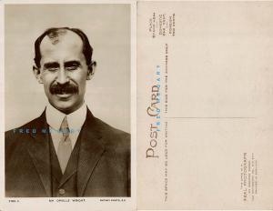 1907 Pioneer Aviation Real Photo Postcard: Orville Wright in England - Rare!
