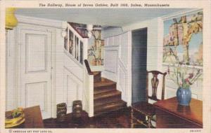 Massachusetts Salem House Of Seven Gables The Hallway Curteich