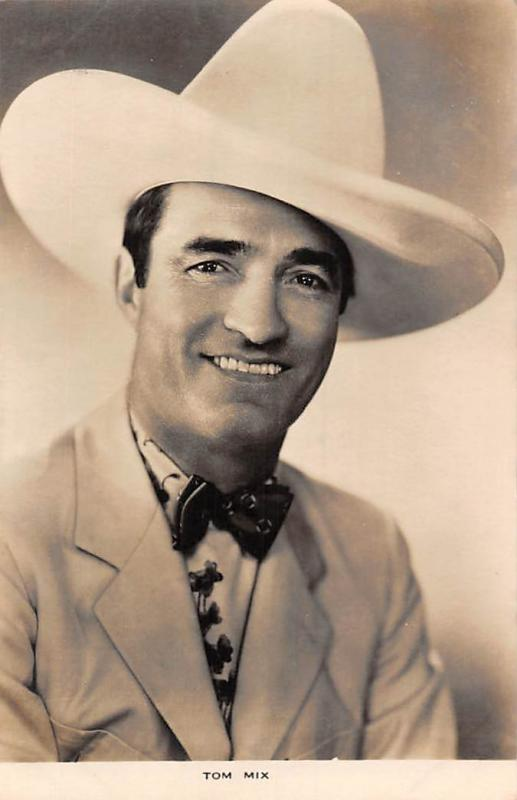 Tom Mix, Western Film Cinema Movie Star Actor, The Weekly Series