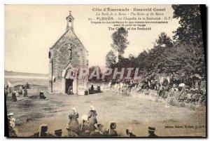 Postcard Old Emerald Coast Edges Rance Plouer The Chapel of Souhaitie