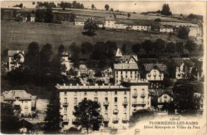 CPA PLOMBIERES-les-BAINS Hotel Metropole et Villas du Parc (406361)