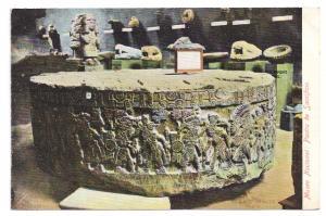 Mexico Piedra Sacrificio Sacrificial Stone 1905 Postcard
